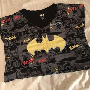 Batgirl nightgown dress DC comics size L XL